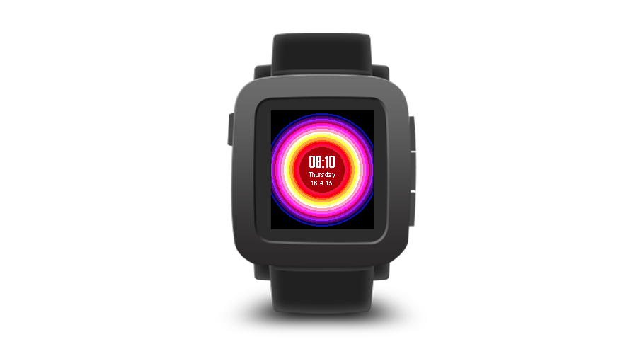 "Pebble Time Watchface ""Pulse"""