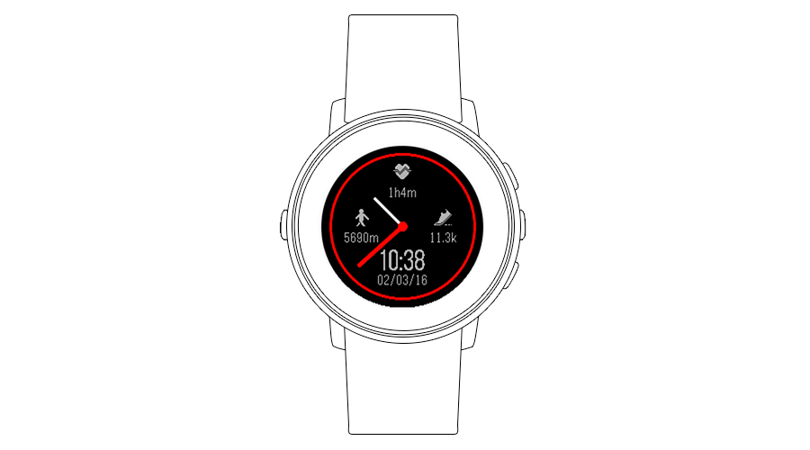 "Pebble Time Watchface ""Modulite"""