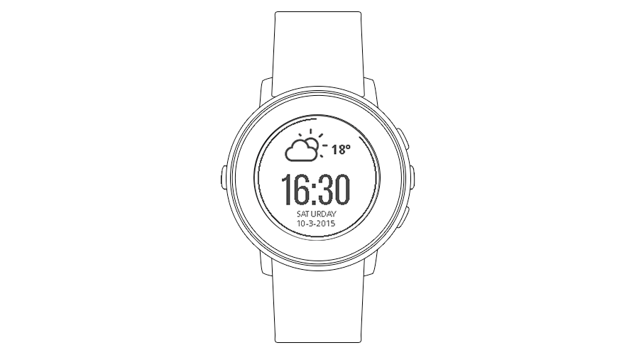 "Pebble Time Watchface ""Essentially"""