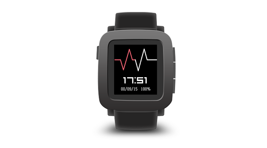 "Pebble Time Watchface ""Beat"""